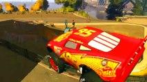 Iron man MIKI MAUS Vampire Lightning McQueen Dinoco King 43 Disney cars Street Drifting Track