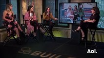 Lia Marie Johnson, Lulu Antariksa, and Katelyn Nacon Discuss Auditioning For  T@gged    BUILD Series