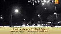 Police chase Police Car Crash USA, Texas