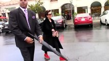 Kris Jenner Appears Stressed When Asked If Son Rob And Fiance Blac Chyna Are Dunzo