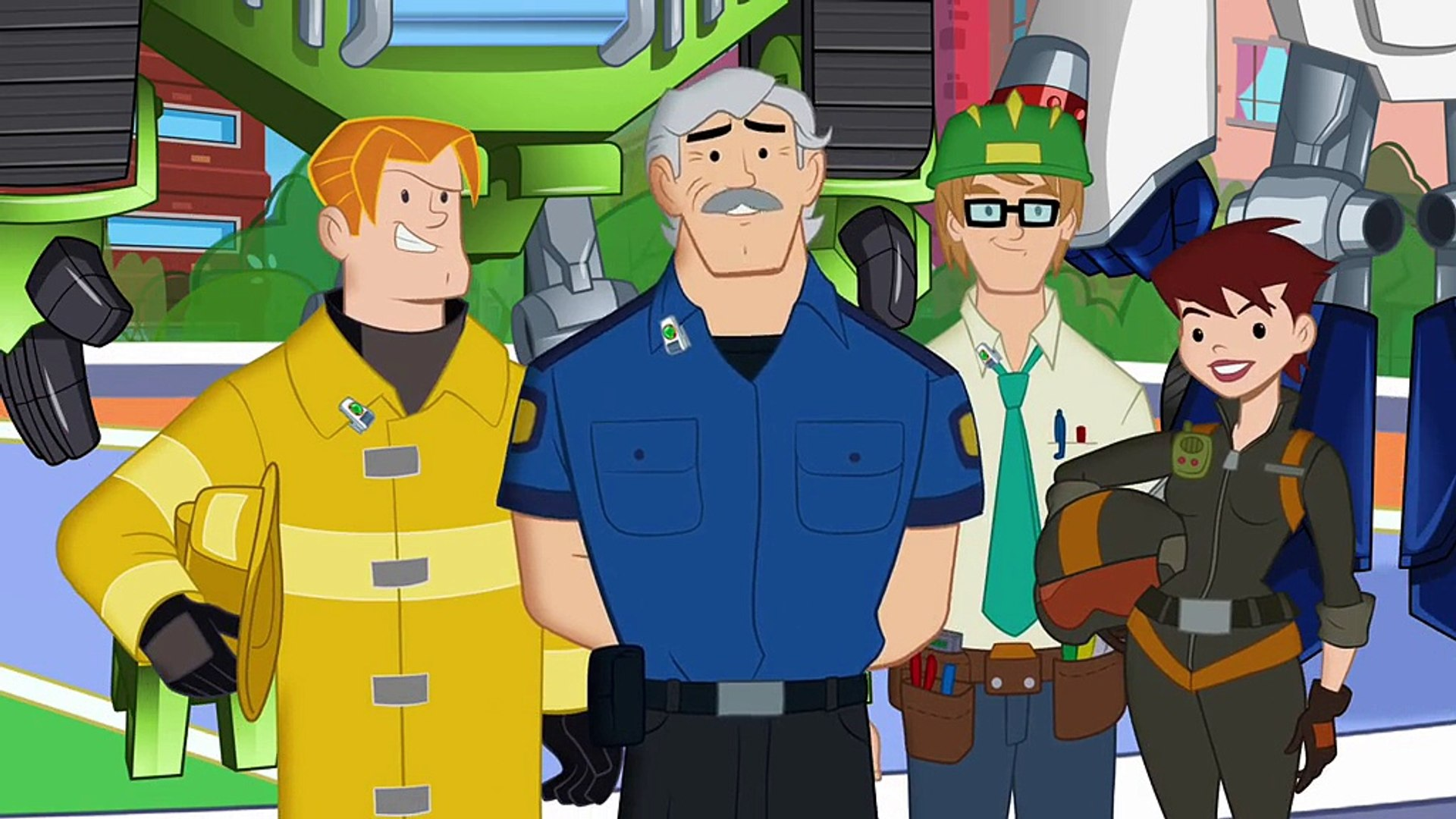 Transformers: Rescue Bots S01E01 Family of Heroes