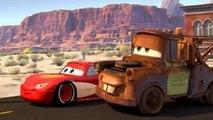 Cars el videojuego ★ Los autos Cars en gran carrera de obstáculos, ciudado gran incendio