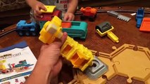 Bob the Builder TOYS - Mash & Mold Construction Site Play Sand UNBOXING Bob the Builder Tiny & Dizzy