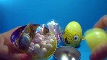 3 Surprise eggs Nickelodeon SpongeBob My Little Pony Luntik ICE AGE 4 Continental Drif eggs!