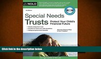 Online Stephen Elias Attorney Special Needs Trusts: Protect Your Child s Financial Future (Special
