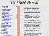 Baudelaire  Fleurs du mal  Poésie Littérature