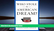 Best Price Who Stole the American Dream? Hedrick Smith On Audio