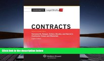 Buy Casenote Legal Briefs Casenote Legal Breifs: Contracts, Keyed to Farnsworth, Sanger, Cohen,