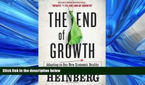 Pre Order The End of Growth: Adapting to Our New Economic Reality Richard Heinberg On CD