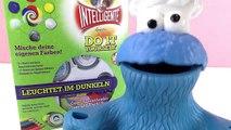 KRÜMELMONSTERS NEON WELT! INTELLIGENTE KNETE Selber machen Deutsch - Spiel mit mir Kinderspielzeuge