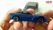SPEEDY Aston Martin one-77 vs TOMICA Chevrolet Corvette Z06   Kids Cars Toys Videos HD Collection