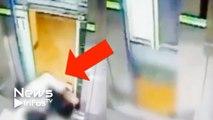 Un homme échappe à la mort : Il évite de se faire broyer par un ascenseur