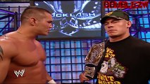 Randy Orton and John Cena Confrontation - Backlash 2007