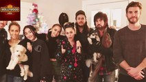 Miley Cyrus and Liam Hemsworth Celebrate Christmas Together   Hollywood Asia