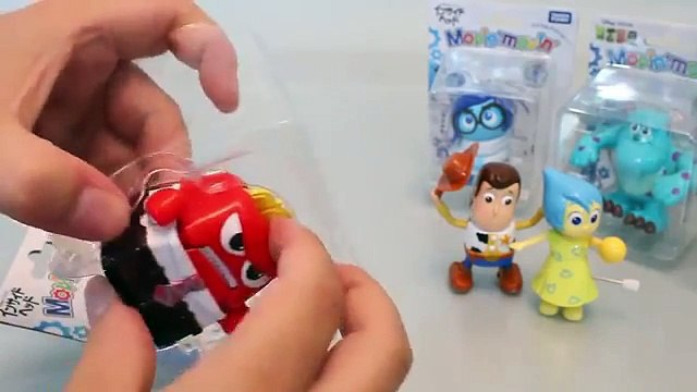 Mundial de Juguetes & Disney Pixar Inside Out, Toy Story, Cars Tomy Movin Figurines Toys