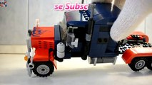 Huge Lego Optimus Prime Transformers The Boss Of Bumblebee Very Big Optimus Prime