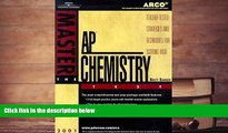 Best Price Arco Master the Ap Chemistry Test 2001: Teacher-Tested Strategies and Techniques for