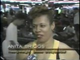 Channel 4 News Covers Female National Bodybuilding Champion Working Out At Gold's Gym