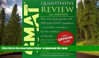 READ book  The Official Guide for GMAT Quantitative Review, 2nd Edition GMAC (Graduate Management