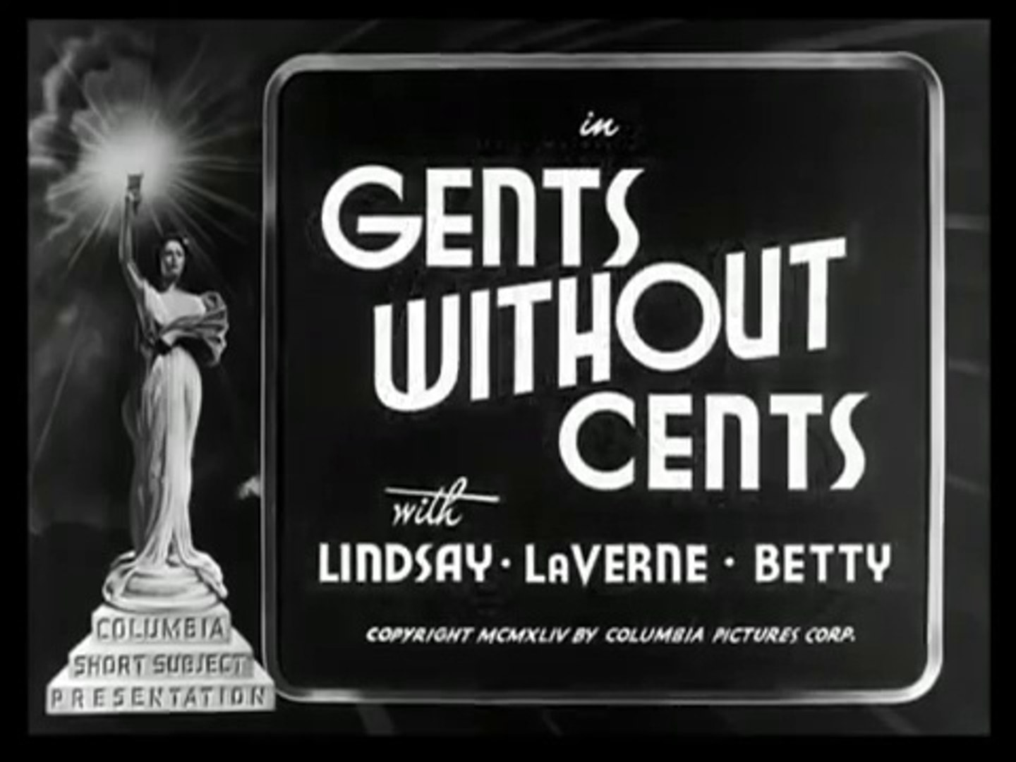 Image result for Gents Without Cents (1944)