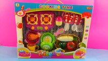 Velcro Cutting Toy Deluxe Fish & Vegetables Cooking Set and Deluxe Pizza Party Cooking Play Set