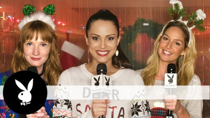 Playing Holiday Q&A With Your Favorite Playmates