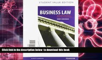 PDF [FREE] DOWNLOAD Contemporary Business Law, Student Value