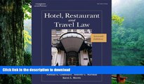 Free [PDF] Downlaod  Hotel, Restaurant, and Travel Law, 7th Edition  DOWNLOAD ONLINE
