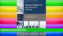 Read Online Venture Capital 2.0: From Venturing to Partnering (Annals of Corporate Governance)