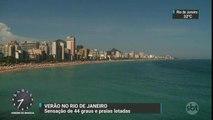 Calor e praias lotadas marcam fim de ano no Rio de Janeiro