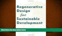 Price Regenerative Design for Sustainable Development John Tillman Lyle PDF