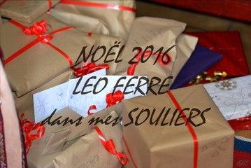 Noël 2016, Léo Ferré dans mes souliers