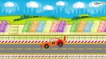 Camion et Tracteur & Grue - Camions dessins animé pour enfants en français - La voiture pour enfants