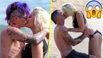 Paris Jackson & BF Michael Snoddy Make Out Half-Naked On Hawaii Beach   Unseen Pictures