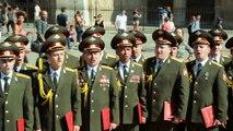 Décès des chanteurs des chœurs de l'armée Rouge dans un crash d'avion