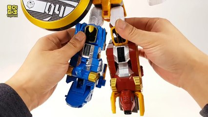 Geomecha  Beast Guardian No.4 Skyhawk Toy Robot Transformation Video 지오메카 비스트가디언 3단 합체 4호 스카이호크 신제품 변신 장난감 로봇 변신 동영상