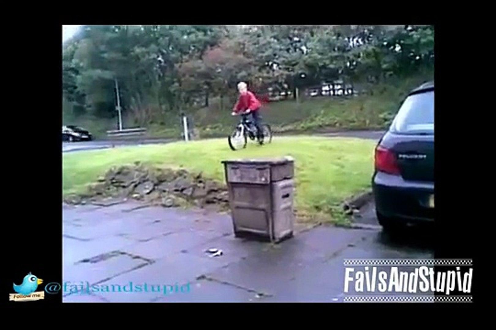Stupid Kids Fails on Bikes Compilations _ Stupid Kids Drive BMX Bike Fails-M8XkzzkLOFU