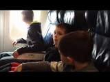 First Airplane Ride Funny Video Taking Off in an airplane Plane-RXkcANyeHSo