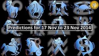 Weekly Astrology Horoscopes for Nov 17 to 23 by Shweta Kambli
