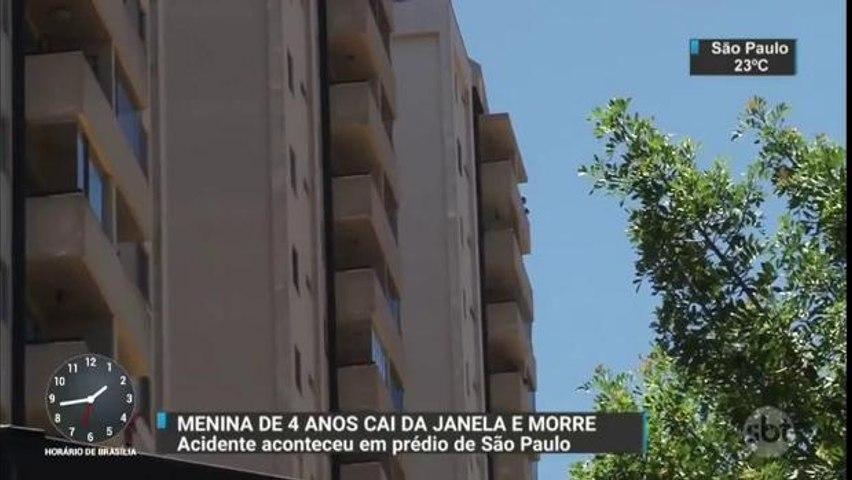 Criança de quatro anos cai de prédio e morre em São Paulo