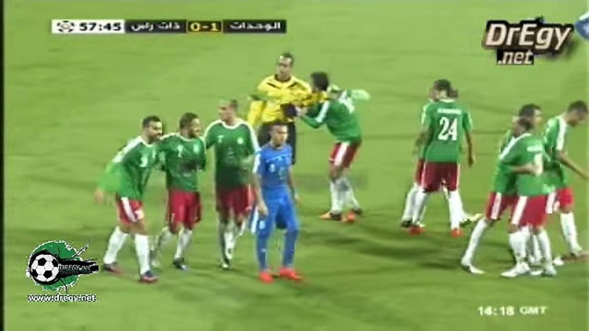 اهداف مباراة الوحدات و ذات راس 3-0 كاس الاردن