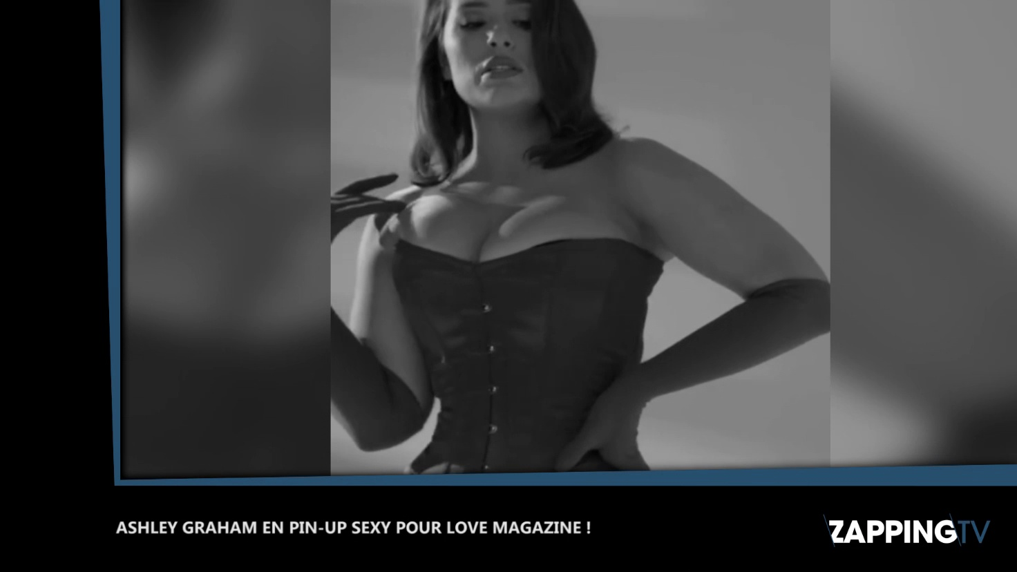Ashley Graham sexy en pin-up pour Love Magazine. http://bit.ly/2HOChP6