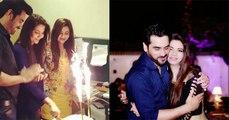 Humayun Saeed Wife Samina Saeed Birthday Celebration