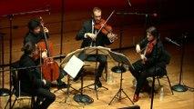 Haydn : Quatuor à cordes en si bémol majeur op. 1 n° 1 - Presto par le Quatuor Cambini