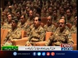 Army chief appreciates role of officers in Zarb-e-Azb