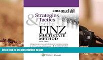 Read Online Strategies   Tactics for the FINZ Multistate Method (Emmanuel Bar Review) (Emanuel Bar