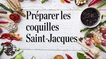 En cuisine avec Adeline Grattard - Préparer les coquilles Saint-Jacques