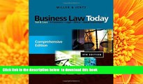 FREE [DOWNLOAD] Business Law Today: Comprehensive: Text and Cases Roger LeRoy Miller DOWNLOAD ONLINE