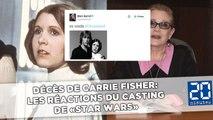 Décès de Carrie Fisher: Les réactions du casting de «Star Wars»
