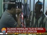 UB: 2 hinihinalang tulak ng droga, arestado sa buy-bust operation sa Zamboanga City